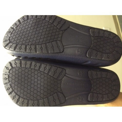 A photo of men's ultralite strapless clogs