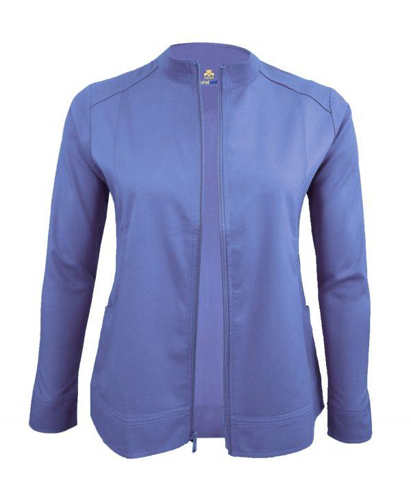 Celi- Blue Scrub Set Warm Jacket
