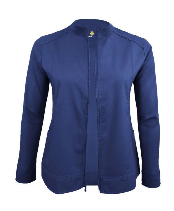 Navy Blue Scrub Set Warm Jacket