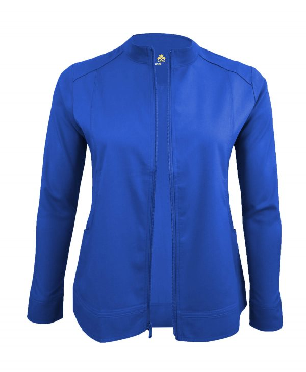 Royal Blue Scrub Set Warm Jacket