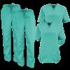 Surgical Green Medical Scrub Top Two Pocket jpeg